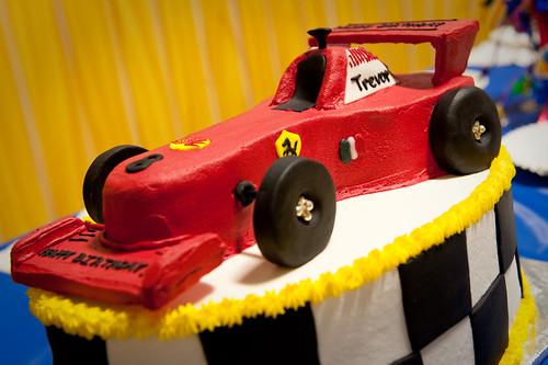 Ferrari Birthday Cake Template