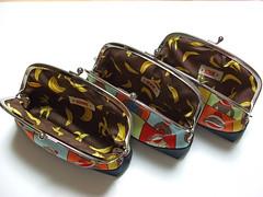 Sock monkey frame purses(Interior)