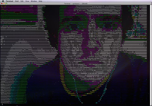 ASCII me | by Chris Devers