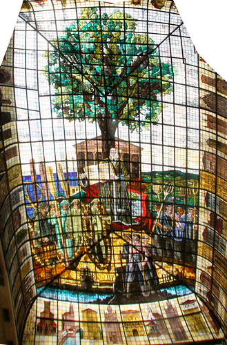 Guernica Stained Glass Panorama | by erikrasmussen