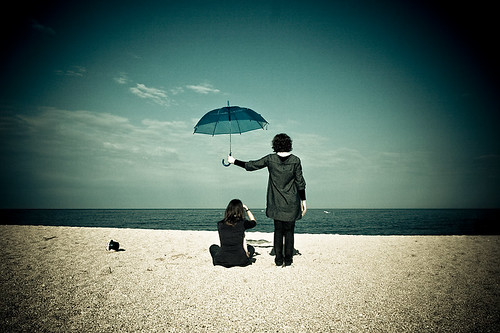 under my umbrella | by teobonjour - www.matteomignani.it