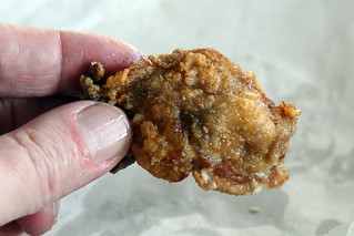 A fried oyster at Parkway Bakery & Tavern, New Orleans | by Eating In Translation