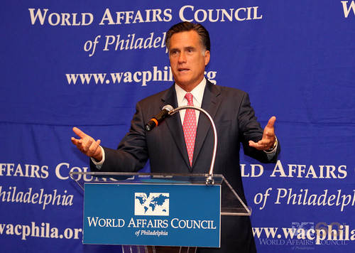 The World Affairs Council of Philadelphia presents Mitt Romney, April 6, 2010 | by World Affairs Council of Philadelphia