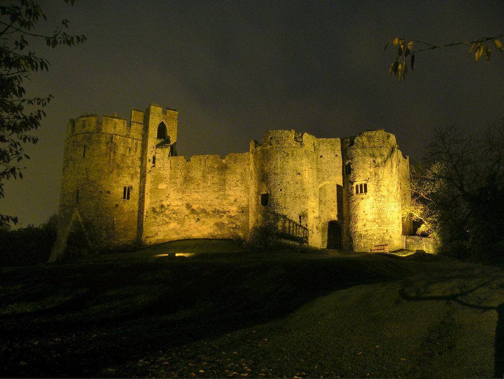 Castle Photography Chepstow Chepstow Castle Night