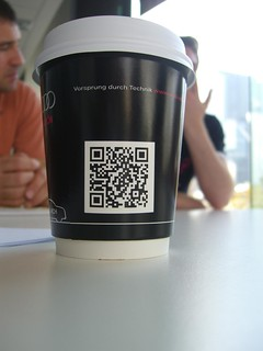 QR Code on a Coffee Cup | by avlxyz