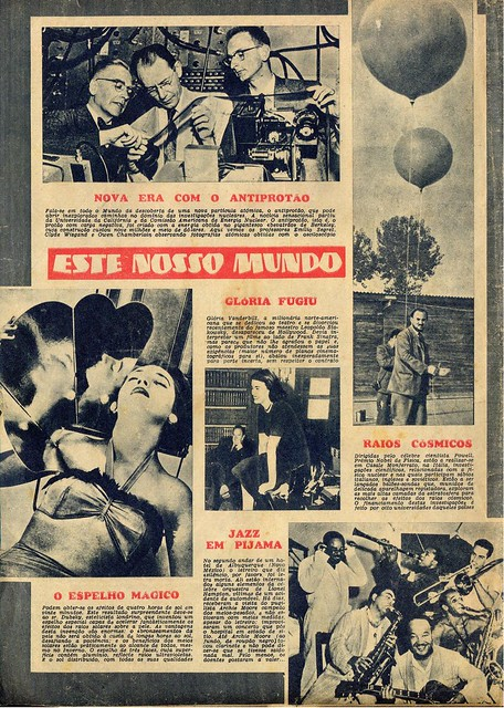 Século Ilustrado, No. 935, December 3 1955 - back cover