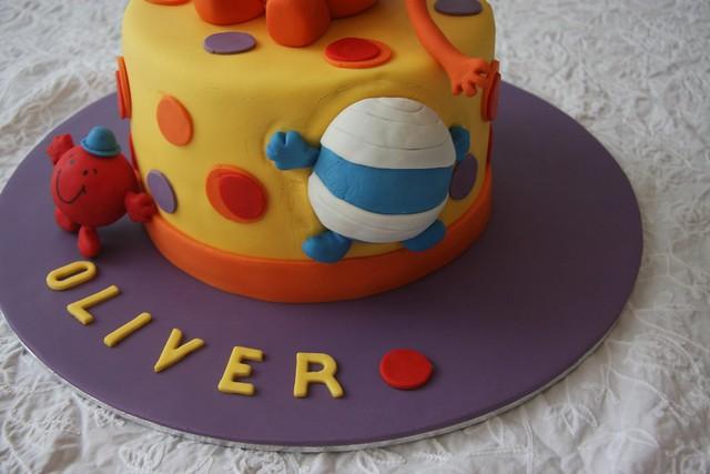 Cake Decorating  Flickr - Mr tickle birthday cake