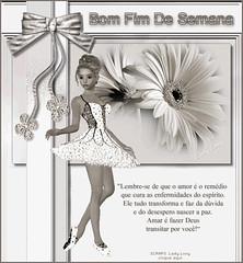 Desejo tudo de bom nesse fim de semana... by Clara Arteira