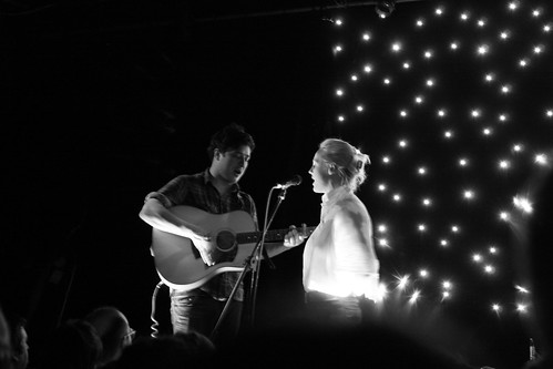 Marcus Mumford & Laura Marling | by luptonn