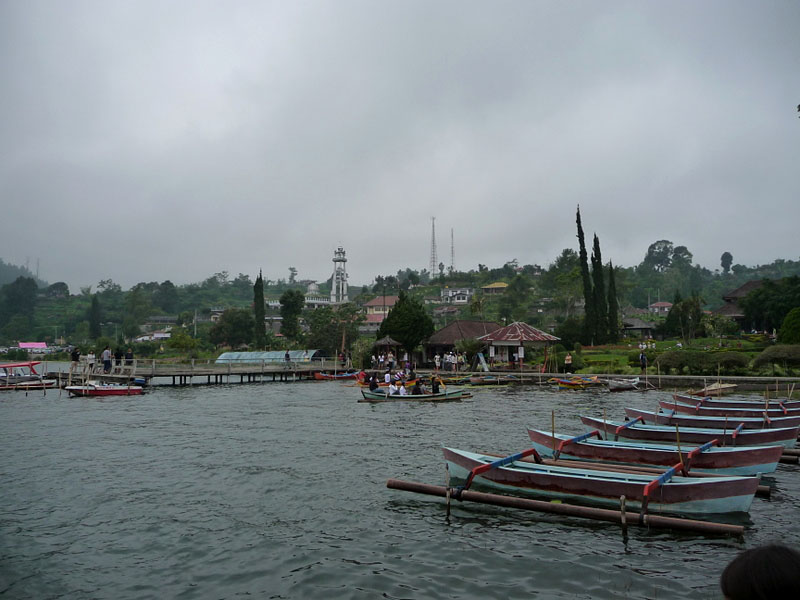 Lake Bratan, Bali - other side of the lake