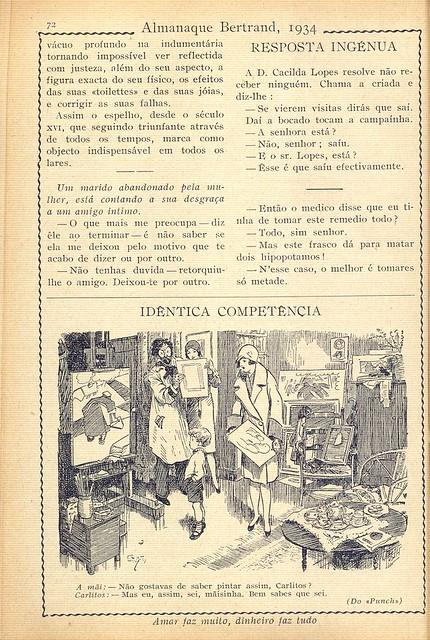 Almanaque Bertrand, 1934 - The Mirror b 2