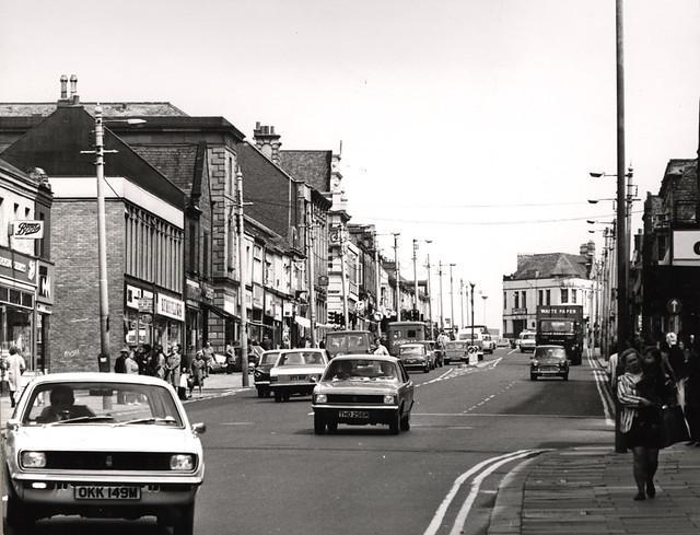 Shields Road, Byker 1974