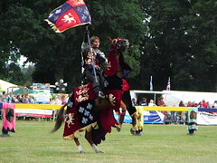 The Knights of Middle England Jousting Display by rachel260.