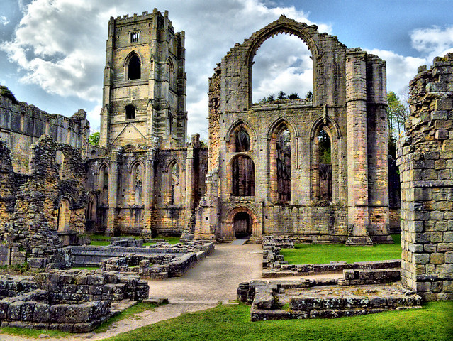 Image result for the ruins of fountains abbey