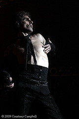 Perry Farrell of Jane's Addiction by photobycourtney