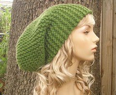 The Slouch Hat in Green Apple | by Pixiebell Elfinwear