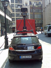 Google Car Budapesten - Budapest Deák tér by Alexgraphics