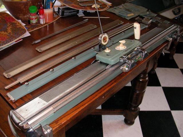 Vintage Knitting Machine : Brother kh vintage knitting machine flickr