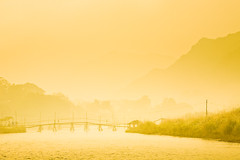 Sun rise, Vang Vieng, Laos. by tomrobinsonphotography