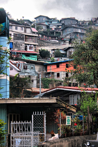 Houses in Baguio