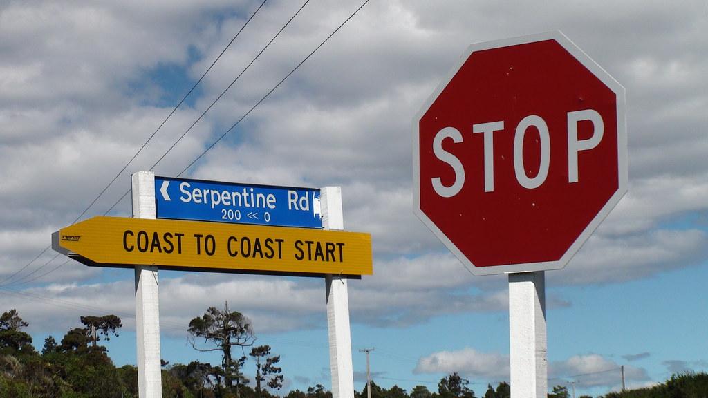 Coast To Coast Start - STOP