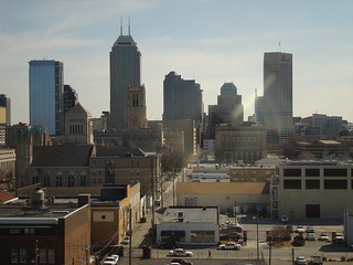 Indianapolis Skyline | by bnpositive