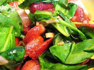 Strawberry + Spinach Salad (Shot B) | by Plat