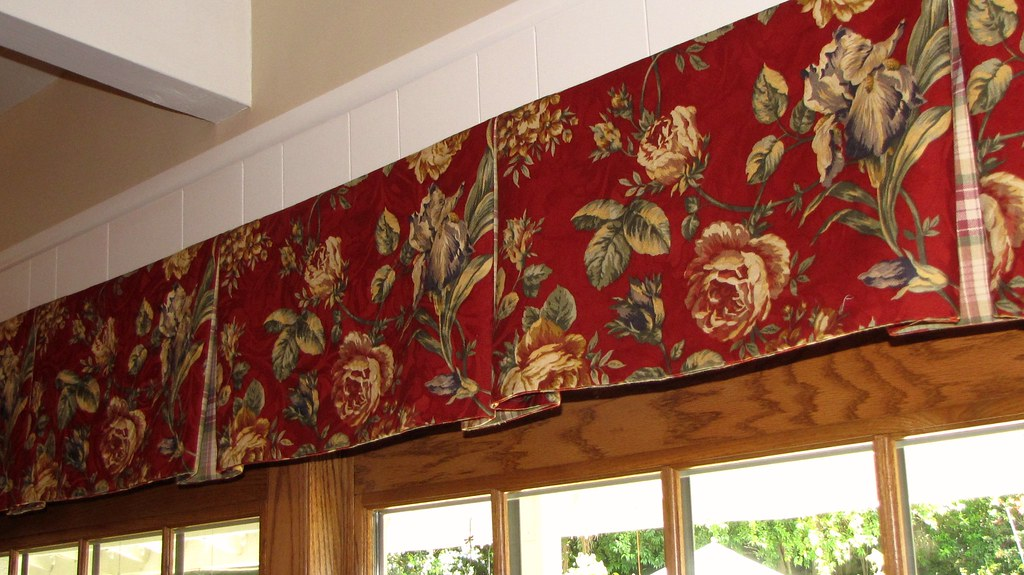 Box Pleat Window Valance Pattern Box Pleated Valance by