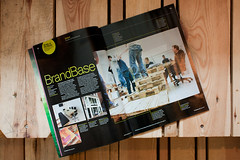 BrandBase Studio in Computer Arts Magazine