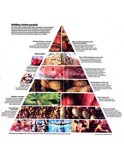 Walter Willette Revised Food Pyramid | by Phil Manker