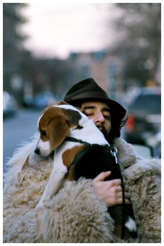 Freewheelin' (with a dog) | by Andre Guerette