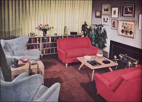 1950s Living Room Heywood Wakefield Flickr Photo
