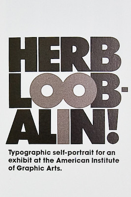 Herb Lubalin: Art Director, Graphic Designer and Typographer | by nkeppol