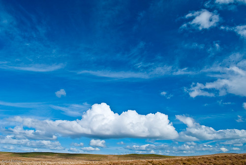 """Nothin' But Blue Skies, Do I See"" Glaslyn, Wales 