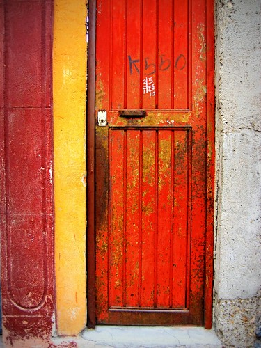 red door on rosal | by msdonnalee