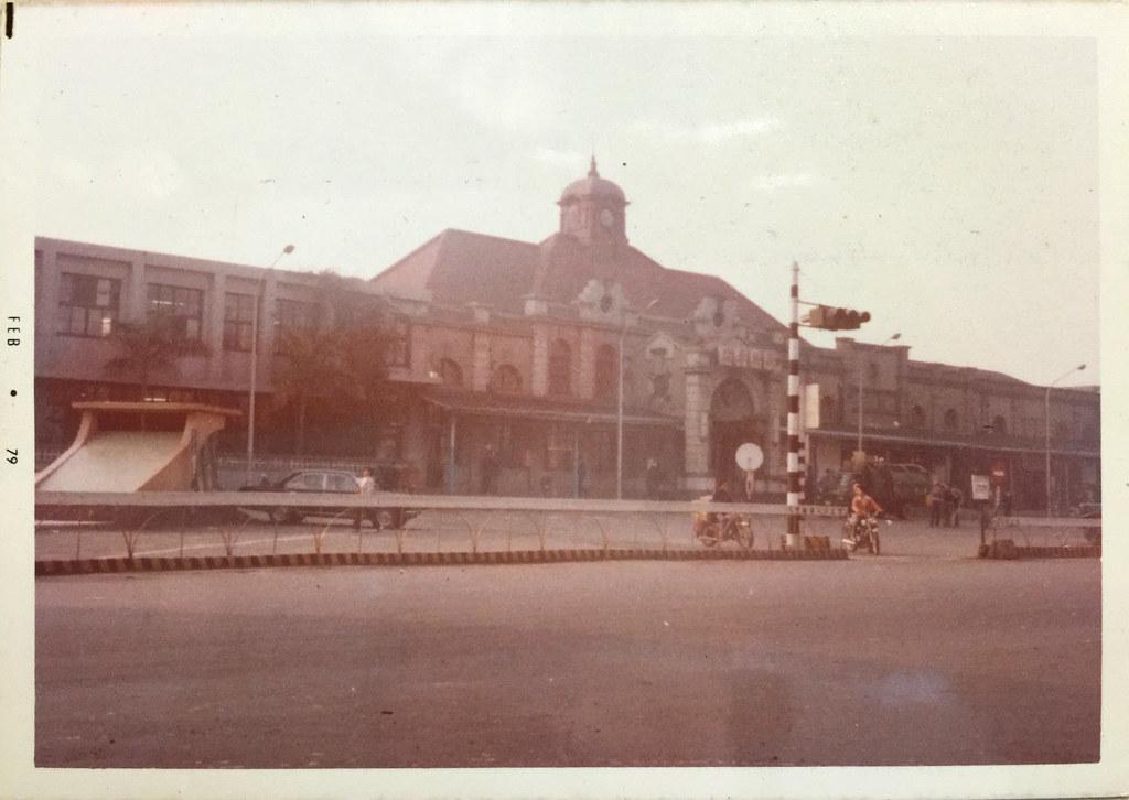 1979年当時の新竹駅