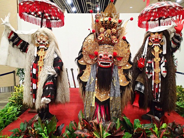 Hindu deities at Ngurah Rai Airport