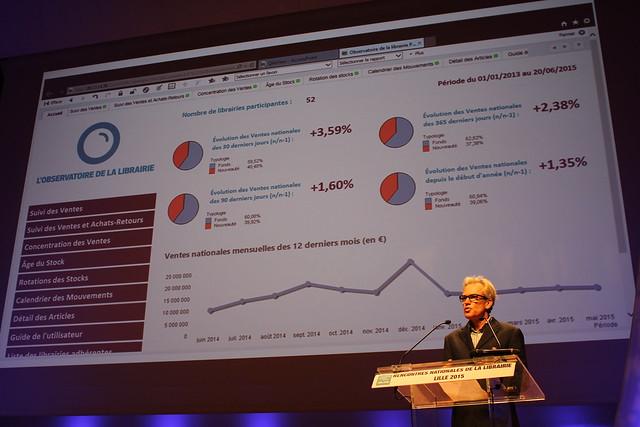 François Boujard, Directeur général de Tite-Live - Rencontres nationales de la librairie 2015