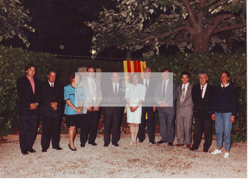 Visita Sr. Jordi Pujol 12/06/1993