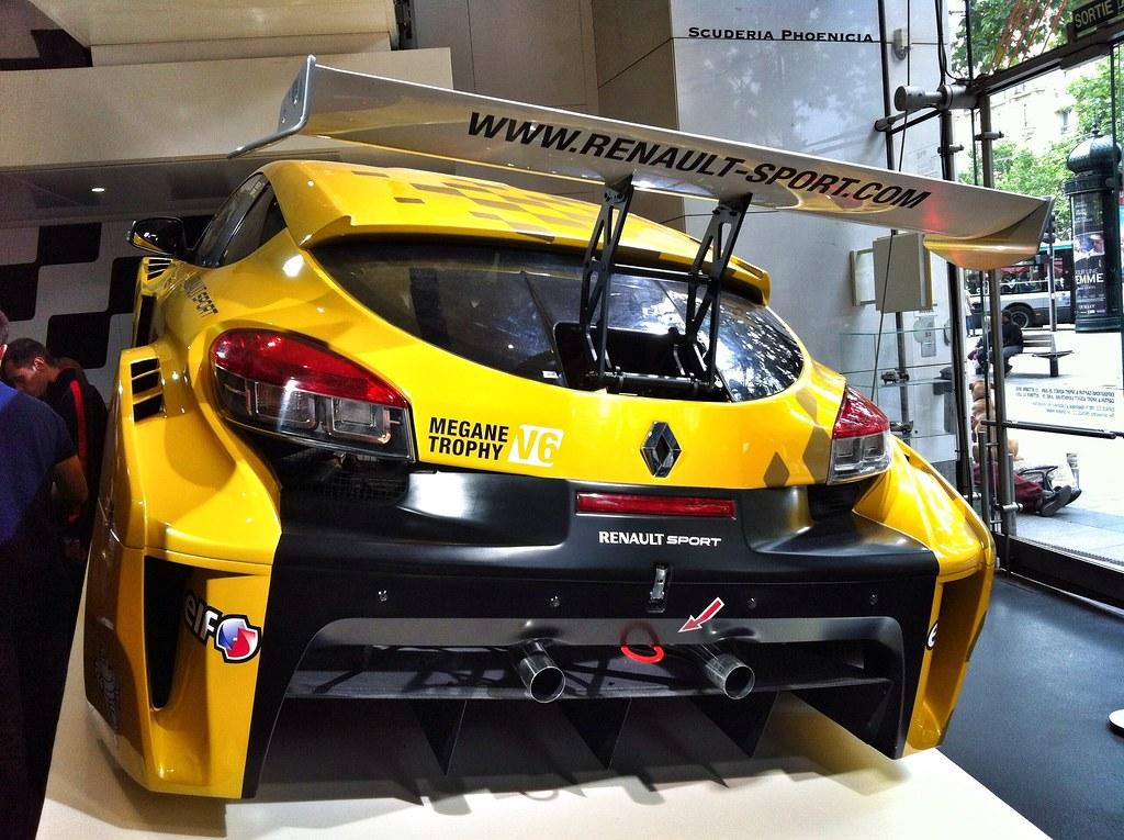 Renault Megane Trophy Black Renault m Gane Trophy v6