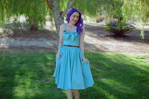 Unique Vintage GoLightly dress