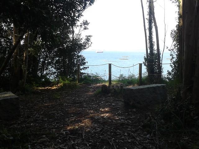 Mirador Punta da Herba en Sada