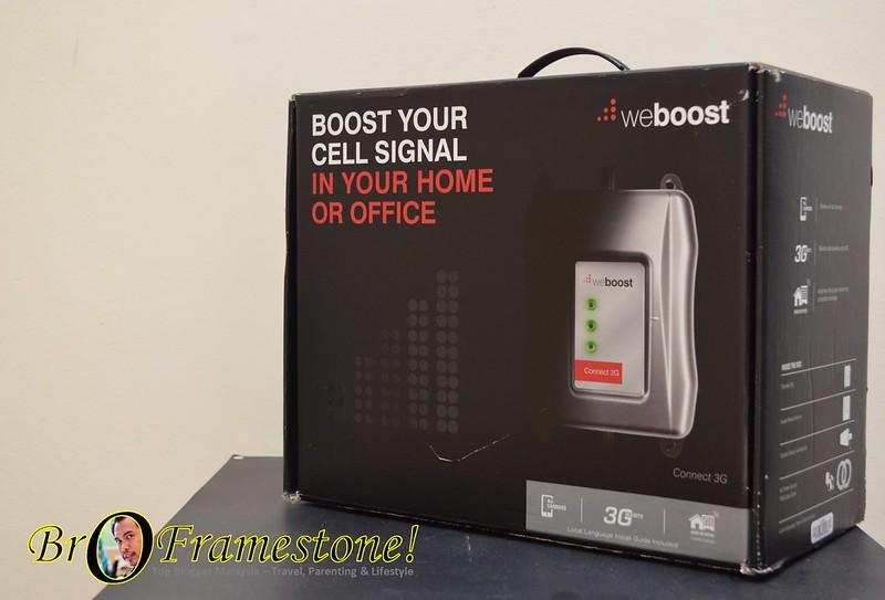 WeBoost Connect 3G Tingkatan Signal Telefon Pintar
