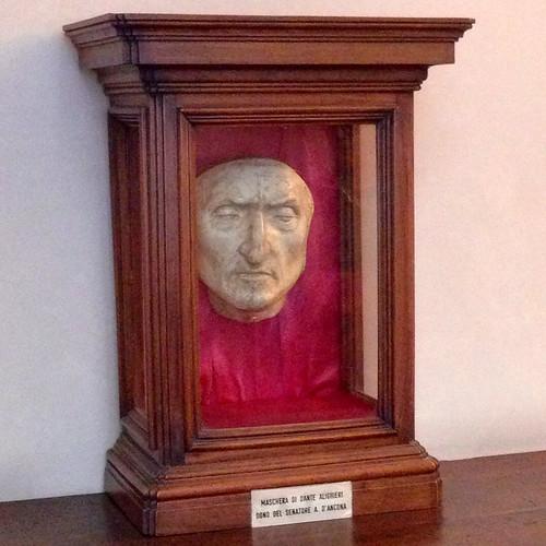 Maschera mortuaria Dante Alighieri firenze