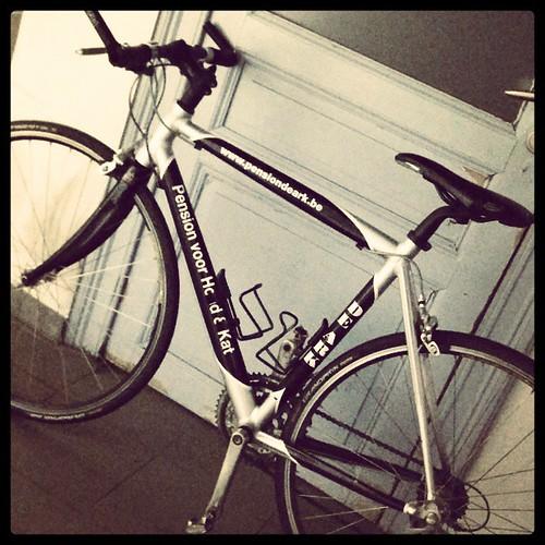 Ne koersvelo! Kan ik nog wat meer fietsen/sporten! #bike