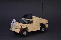 Jackel MRAP by Lego Junkie.