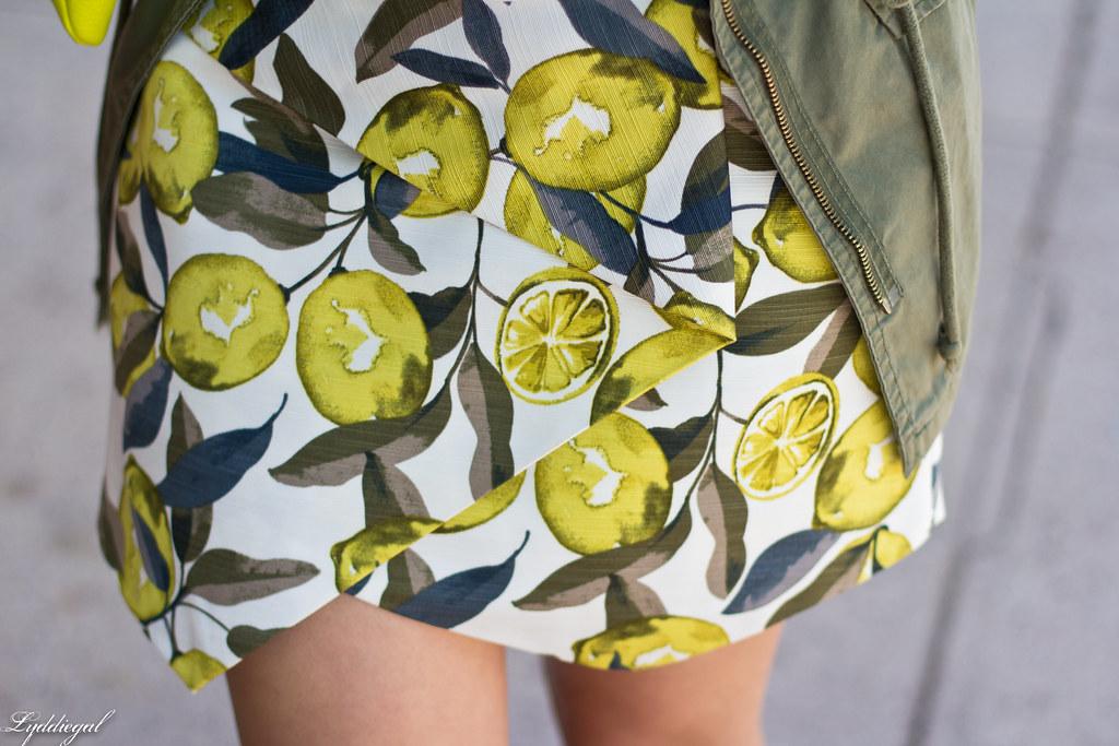 lemon print skort, utility jacket, white tee-8.jpg