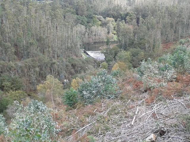 Río Umia en el PR-G 123 Senda Peonil da Ponte do Ramo