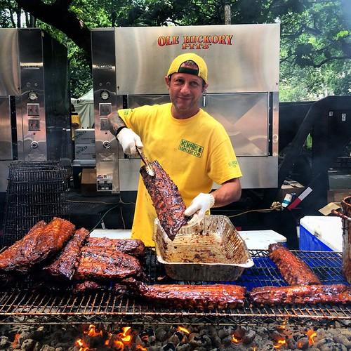 2015 Big Apple BBQ in Madison Square Park (18)