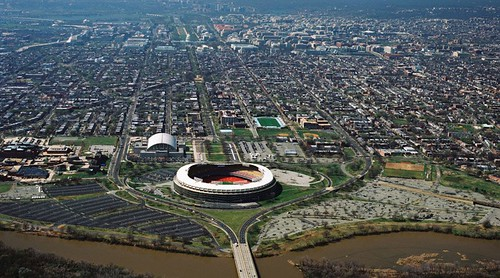 RFK Stadium site, aerial view